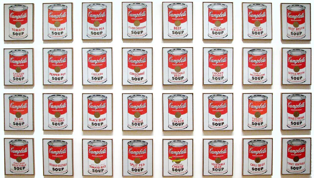 soup cans_ andy warhol