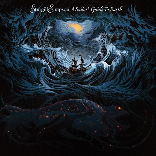 Αποτέλεσμα εικόνας για sturgill simpson – a sailor's guide to earth